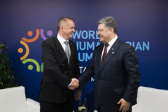 Cimeira humanitária do mundo, Istambul, Turquia, 2016 Imagens de Stock