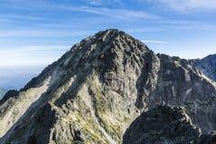 Cimeira - Lodowa Kopa (kopa de Ladova, stit de Maly Ladovy) Imagens de Stock