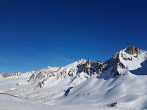 Cimeira nos Andes Fotografia de Stock