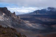 A cimeira panorâmico nubla-se a gim do rollin fotos de stock royalty free