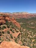 Cimeira vermelha da rocha em Sedona o Arizona imagens de stock royalty free