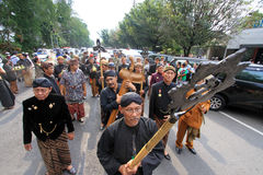 Cimeli Indonesia di carnevale fotografie stock