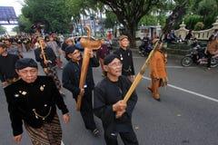 Cimeli Indonesia di carnevale Immagini Stock Libere da Diritti