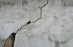 Ciment claqué Image stock