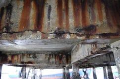 Ciment de fissuration Image libre de droits