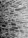 Ciment de modèle de mur de briques intéressant Photo libre de droits
