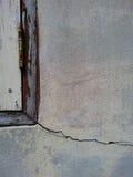 Ciment de mur de fente Photo stock