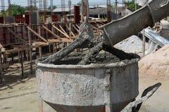 Ciment pour le constructeur de maisons photographie stock libre de droits