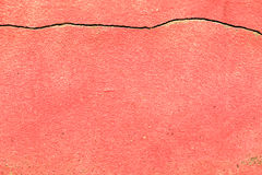 Ciment rouge Photographie stock libre de droits