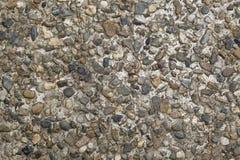 Cimento com textura pequena do cascalho Imagens de Stock Royalty Free
