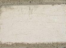 Cimento da parede de pedra Fotos de Stock