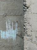 Cimento/muro de cimento fotografia de stock
