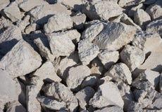 Cimento quebrado Imagem de Stock Royalty Free
