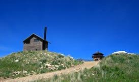 Cimento Ridge Fire Lookout Tower no Black Hills de South Dakota fotografia de stock