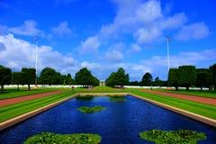 Cimetery американца Нормандии стоковое изображение rf