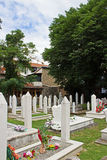 Cimetière à Mostar Photo libre de droits