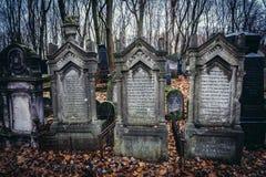 Cimetière à Varsovie Photographie stock libre de droits