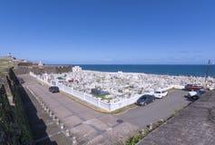 Cimetière à vieux San Juan Photo stock
