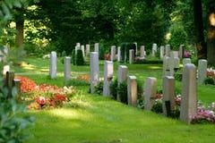 cimetière Image stock