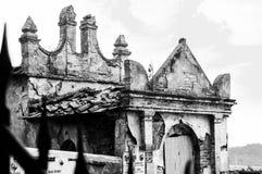 Cimetière abandonné Photos stock