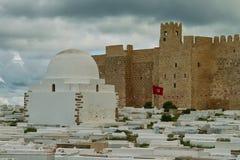 Cimetière arabe Images stock