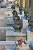 Cimetière chinois Image stock