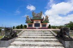 Cimetière chinois en île d'Ishigaki, Okinawa Japan Image libre de droits