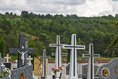 Cimetière Cruces Photographie stock