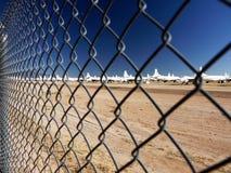 Cimetière d'aéronefs Images libres de droits