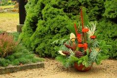 Cimetière d'agencement floral Photos stock