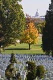 Cimetière d'Arlington image stock