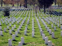 Cimetière d'Arlington Images libres de droits