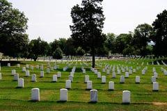 Cimetière d'Arlington images stock