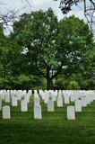 Cimetière d'Arlington Photos stock