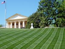 Cimetière d'Arlington le mémorial 2010 de Chambre d'Arlington Images libres de droits