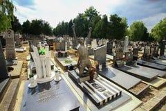Cimetière d'enfant de Belgrade Image libre de droits