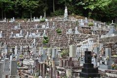Cimetière d'Inuyama Images libres de droits