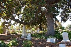 Cimetière d'Oakland, la Géorgie Images libres de droits