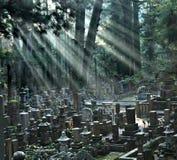 Cimetière d'Okunoin au support Koya Photographie stock libre de droits