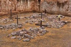 Cimetière dans la mission de sud-ouest Images stock