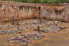 Cimetière dans la mission de sud-ouest Photos libres de droits