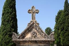 Cimetière dans Lourmarin Photo libre de droits