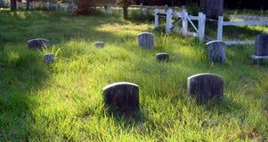 cimetière de 19ème siècle Photographie stock libre de droits