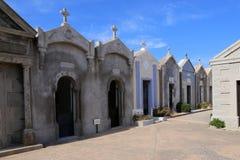 Cimetière de Bonifacio, Corse images stock