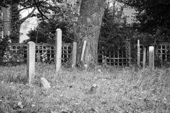 Cimetière de Colonial de Metuchen Photos libres de droits