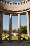 Cimetière de guerre de Taukkyan, Yangon, Myanmar Images libres de droits