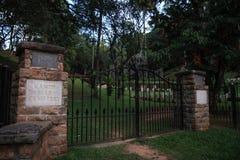 Cimetière de guerre de Kandy, Sri Lanka photographie stock libre de droits