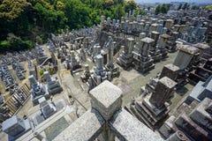 Cimetière de Kyoto photos libres de droits