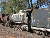 Cimetière de machine à vapeur à Queenstown le Cap-Oriental image libre de droits