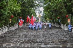 Cimetière de martyres image libre de droits